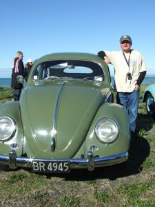Pete with pristine 56 oval